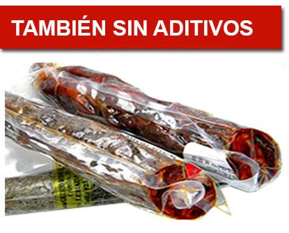 Chorizo iberico sin aditivos